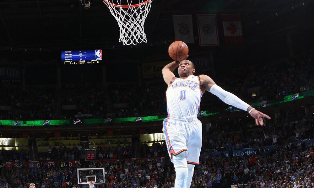 Top 10: Όταν ο Westbrook καρφώνει όλοι υποκλίνονται!