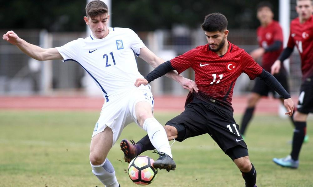 Νίκη της Εθνικής Νέων επί της Τουρκίας με 3-2