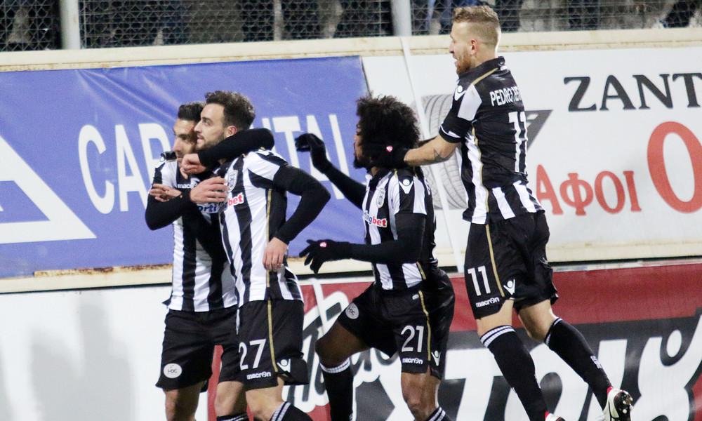 Ξάνθη-ΠΑΟΚ 1-2: Τα γκολ του αγώνα