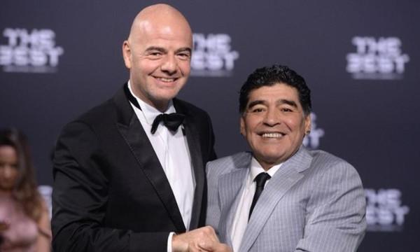 Ιστορικό: Συνεργασία Μαραντόνα με FIFA
