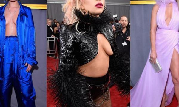 Όλες με τα στήθη έξω στα βραβεία Grammy!