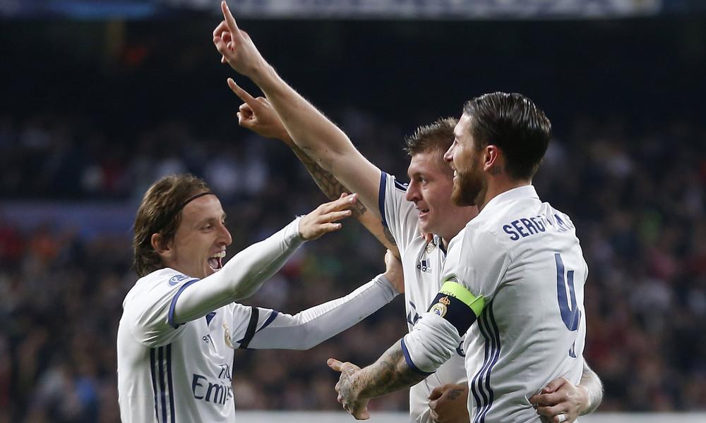 Ρεάλ Μαδρίτης-Νάπολι 3-1: Τα γκολ του αγώνα
