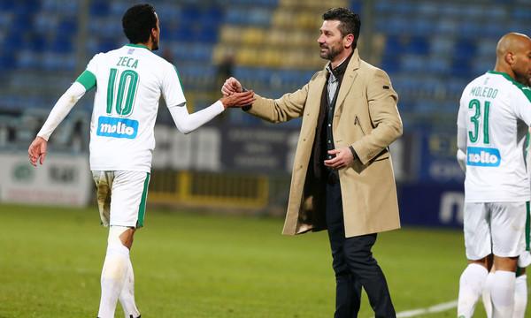 Ουζουνίδης: «Ολοκληρωμένο ποδόσφαιρο στο πρώτο ημίχρονο»