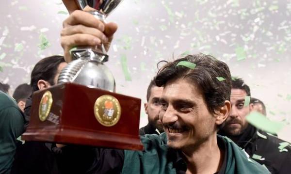 Δ. Γιαννακόπουλος: «Κύπελλο 2017 και συνεχίζουμε…» (photo)