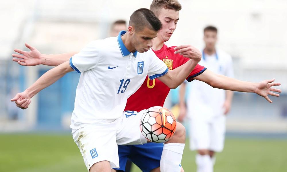 Εθνική Παίδων: Φιλική ισοπαλία με Κύπρο (1-1)