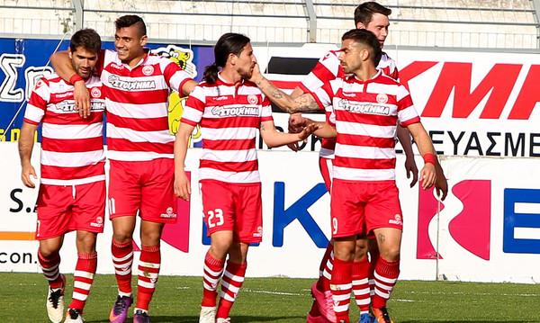 Πλατανιάς-Αστέρας Τρίπολης 3-0: Με Γιακουμάκη «χτυπάει» play offs!