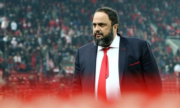 Μαρινάκης: «Απαράδεκτο να βρίζει ο κόσμος παίκτες και προπονητή»
