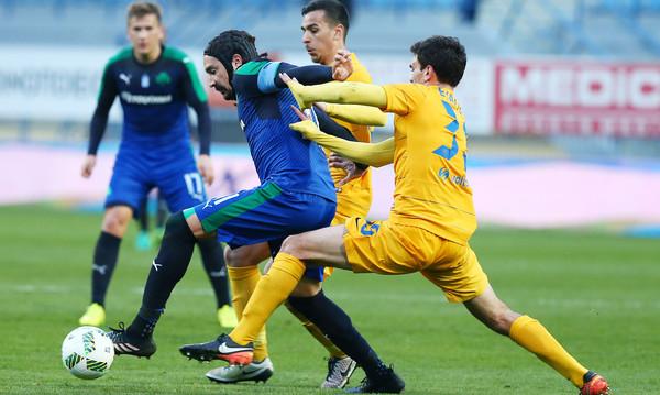 Αστέρας Τρίπολης - Παναθηναϊκός 0-1: «Διπλό» με Μαρινάκη και πανηγυρική πρόκριση