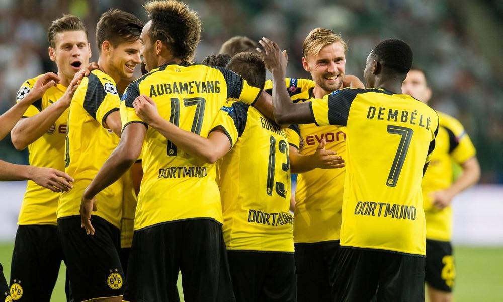Ντόρτμουντ-Μπενφίκα 4-0: Πανηγυρική πρόκριση με «όργια» Ομπαμεγιάνγκ!