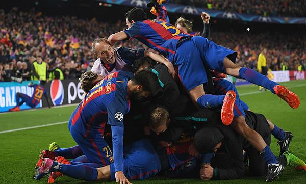 Ποια είναι η επικότερη ανατροπή στο Champions League; (poll)