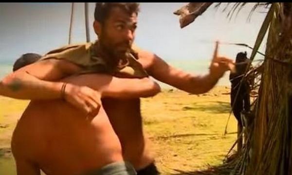 Survivor: Σφαλιάρες και καβγάς στο στρατόπεδο των «Διάσημων»!