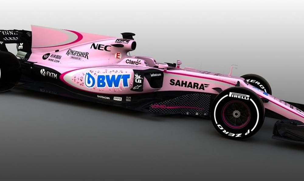 Απίστευτο! Έβαψαν ροζ το μονοθέσιο της Force India!