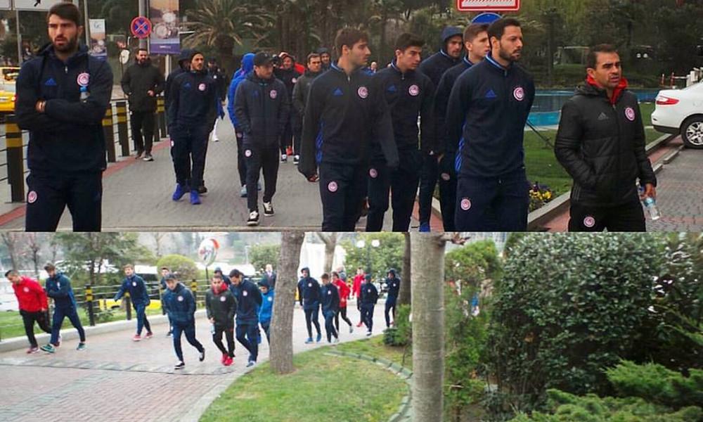 Μπεσίκτας - Ολυμπιακός: Χαλάρωμα στην Πόλη πριν την ρεβάνς