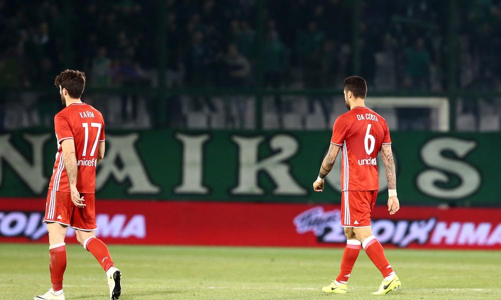 Παναθηναϊκός-Ολυμπιακός 1-0: Ούτε μια τελική στην εστία οι «ερυθρόλευκοι»!