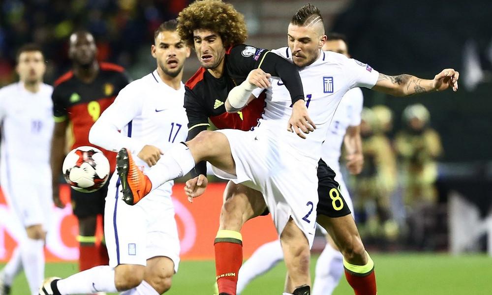 Βέλγιο-Ελλάδα 1-1: Τα γκολ του αγώνα
