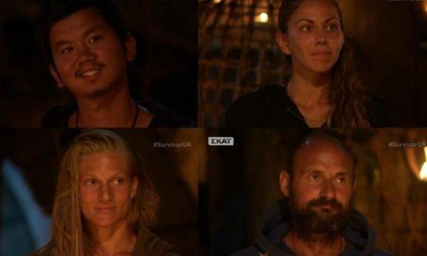Τι έχουν κάνει μέχρι στιγμής στο Survivor οι Πάνος, Τσανγκ, Σάρα και Ελισάβετ!