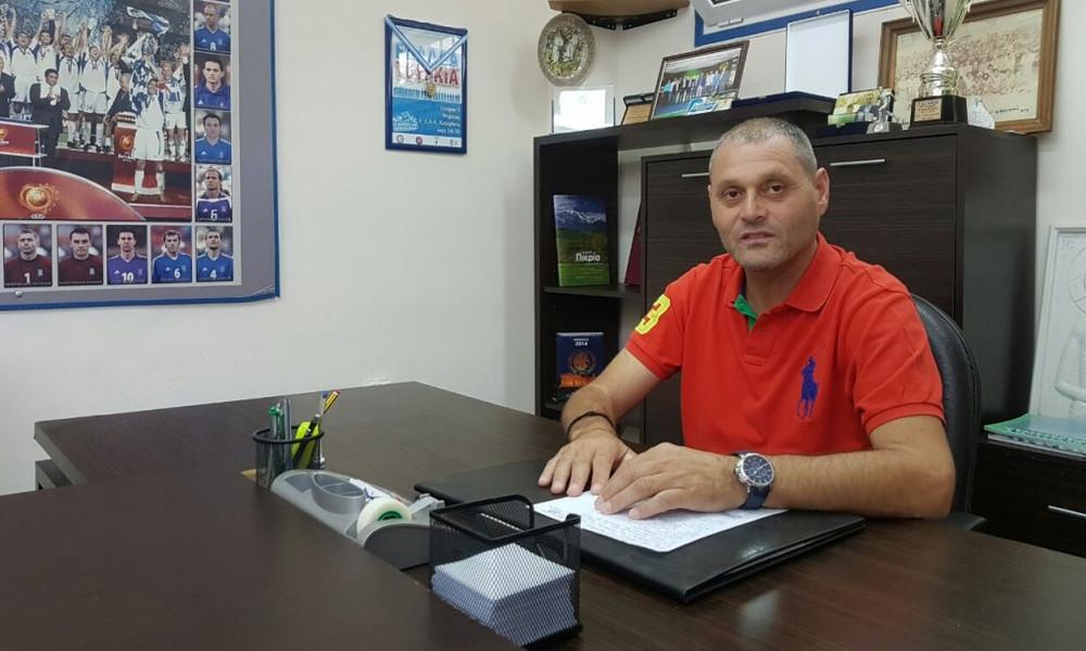 Αποχαιρέτισε το ελληνικό ποδόσφαιρο ο Ελευθεριάδης