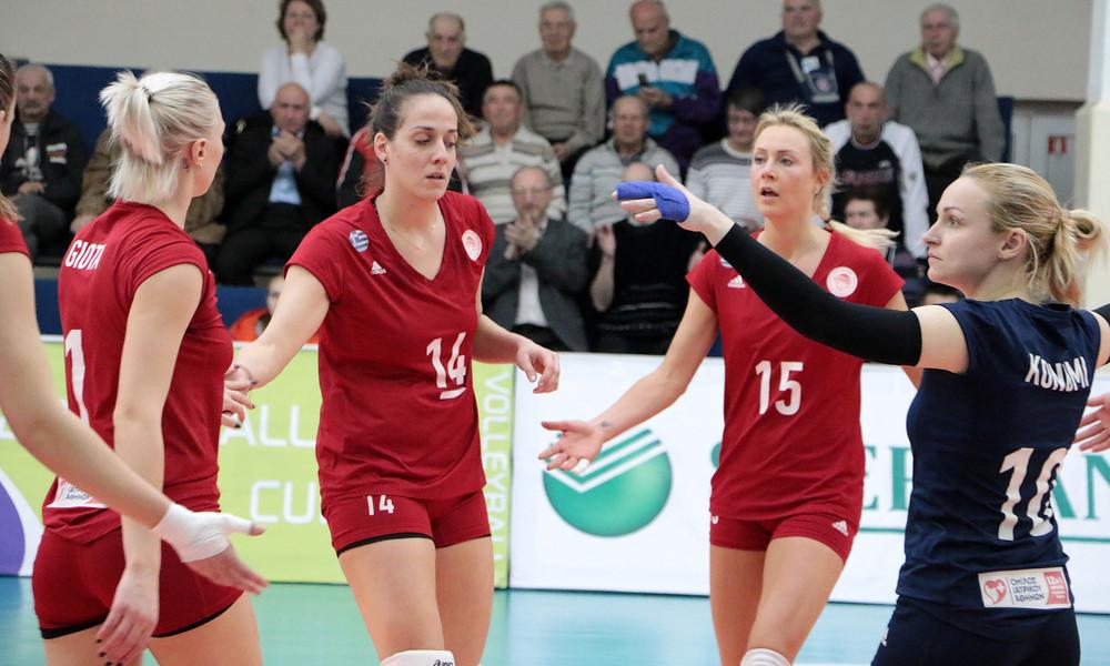 Συγχαρητήρια ανακοίνωση της ΠΑΕ Ολυμπιακός στο γυναικείο βόλεϊ του συλλόγου