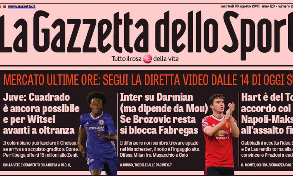 Όταν η «Gazzetta dello Sport» μπήκε στη ζωή μας