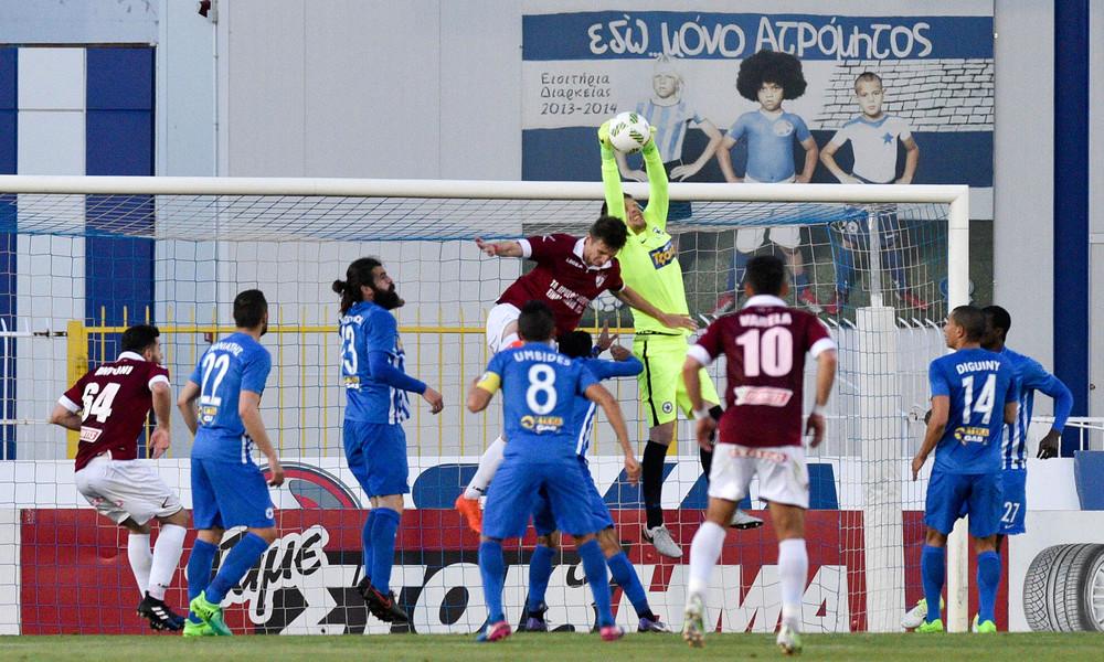 Ατρόμητος - ΑΕΛ 0-0: Κρατάει ακόμα την τύχη της στα χέρια της