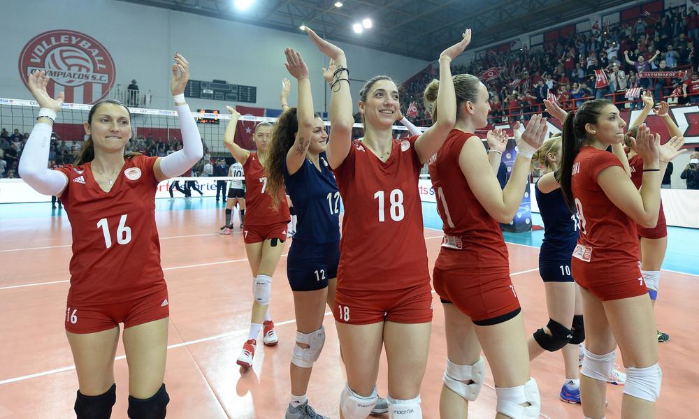 Έκαναν το πρώτο βήμα τα κορίτσια του Ολυμπιακού