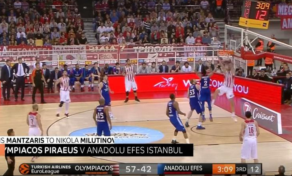 Euroleague: Με… ελληνική εκπροσώπηση το Top 5!
