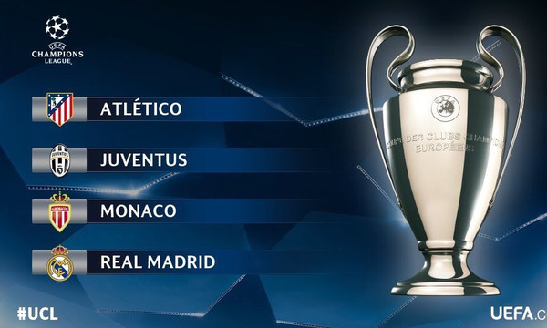Champions League: Αυτά είναι ζευγάρια των ημιτελικών!