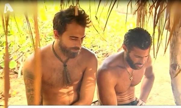 Survivor: «Ο Μάριος με τον Βασάλο λέγανε ότι τον πήρε στο λαιμό του τον Χούτο ο Χανταμπάκης, άρα…»