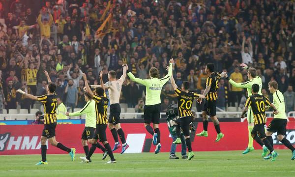 ΑΕΚ - Ολυμπιακός 0-1: Έχασε αλλά πέρασε στον τελικό η Ένωση!