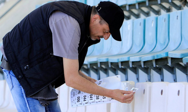 Τελικός Κυπέλλου: Ετοιμασίες… made in Greece! (photos)