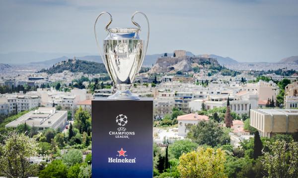 Στην Ελλάδα αποκλειστικά από τη Heineken® το τρόπαιο του UEFA Champions League