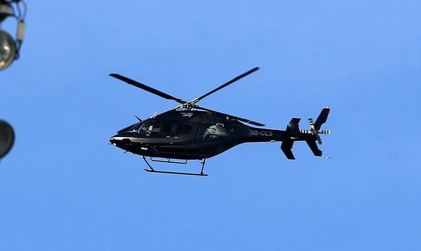 Τελικός Κυπέλλου: Ο Σαββίδης είδε την προπόνηση από το ελικόπτερο