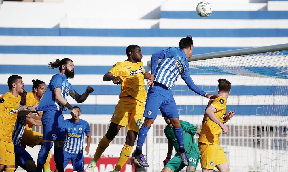 Ατρόμητος - Αστέρας Τρίπολης 2-1: Φιλική νίκη για τους Περιστεριώτες