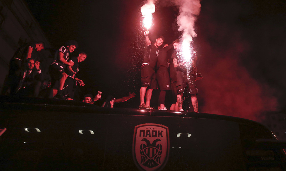 ΠΑΟΚ: «Κάηκε» ο Λευκός Πύργος με το Κύπελλο!