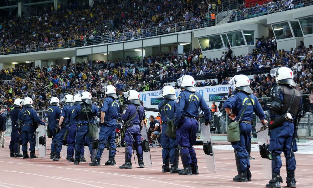 Τελικός Κυπέλλου: «Επίθεση» της Ομοσπονδίας Αστυνομικών σε ΠΑΕ και ΕΠΟ!
