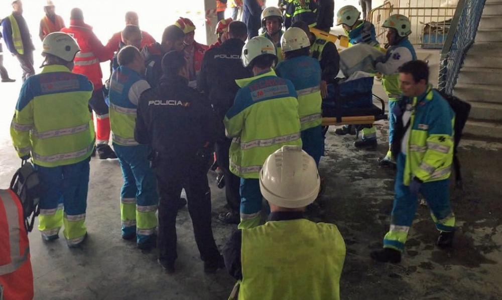 Σοκ: Σοβαρός τραυματισμός εργάτη στο γήπεδο της Ατλέτικο!