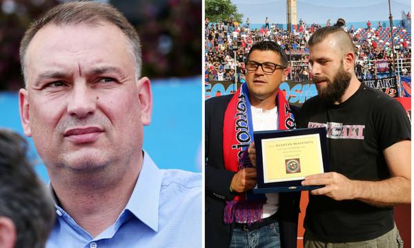 Τίμησαν Μιλόγεβιτς υπό το βλέμμα του Γρηγορίου!