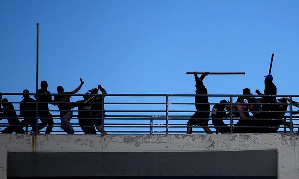Η αστυνομία ταυτοποίησε 23 χούλιγκαν για τα επεισόδια του Βόλου