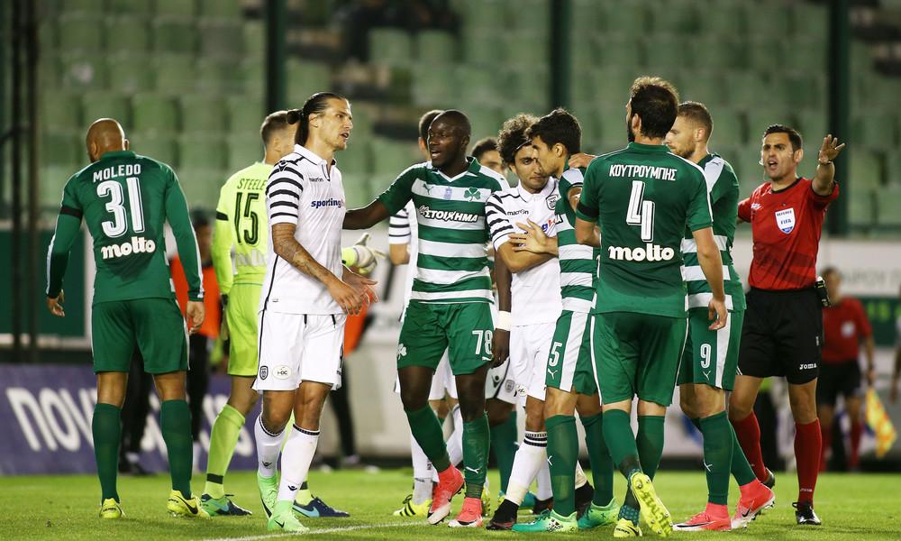 Χαμός και διακοπή στη Λεωφόρο - Πλακώθηκαν οι παίκτες, έφαγε κουτάκι μπύρας στο κεφάλι ο Ίβιτς!