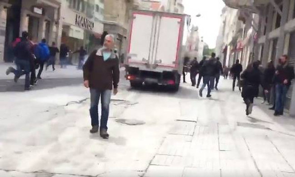 Final 4: Τα βίντεο από τα επεισόδια στην Πόλη