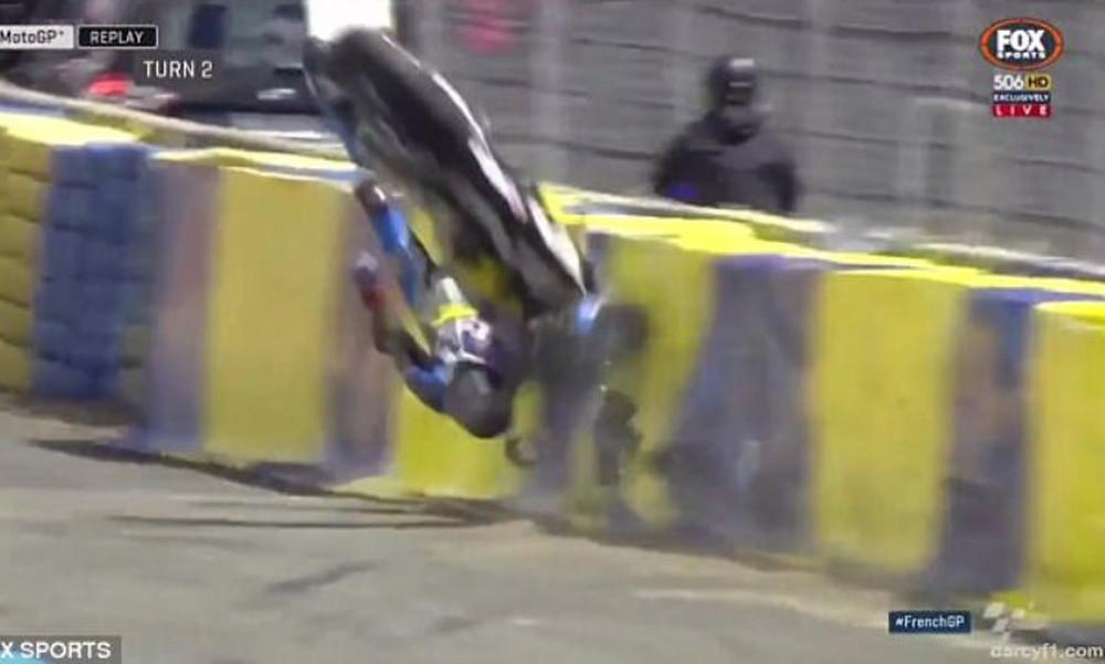 Απίστευτο ατύχημα με Τζακ Μίλερ που σοκάρει! (video)