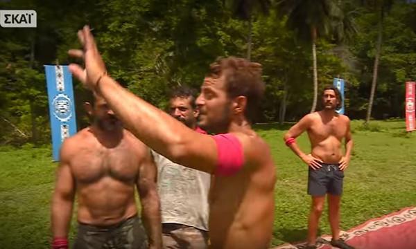 Survivor: Έξαλλος ο Ντάνος με μισθοφόρο! «Έχω κλέψει σε αγώνα;»