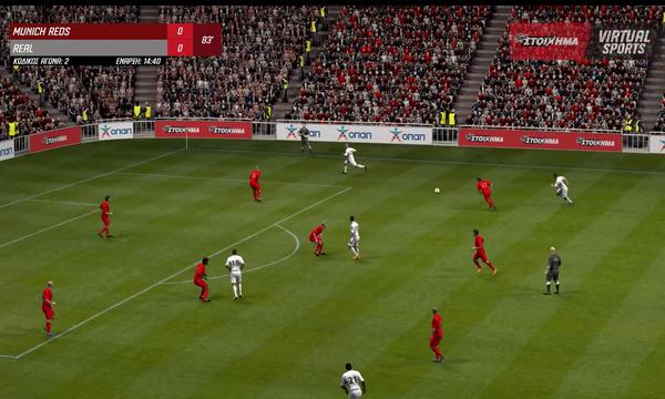 ΠΑΜΕ ΣΤΟΙΧΗΜΑ Virtual Sports: Το μεγάλο ποδοσφαιρικό γεγονός του καλοκαιριού στα πρακτορεία ΟΠΑΠ