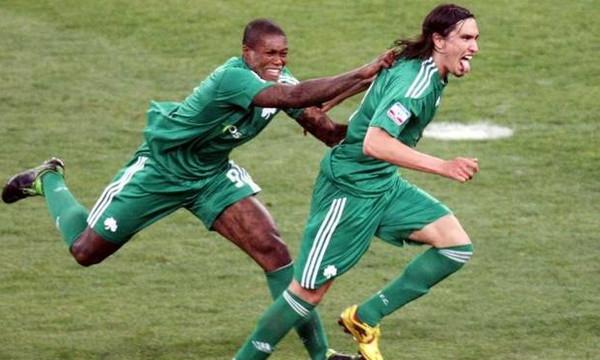 ΑΠΟΚΛΕΙΣΤΙΚΟ: Πως πανηγύρισε ο Σισέ το γκολ του Λέτο! (vids+pics)
