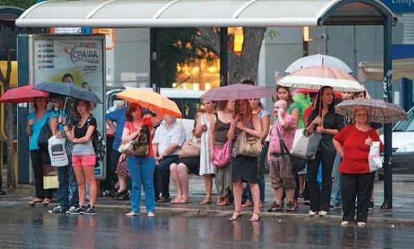 Καιρός EMY: Ισχυρές βροχές και καταιγίδες σήμερα - Πού θα σημειωθούν τα καιρικά φαινόμενα
