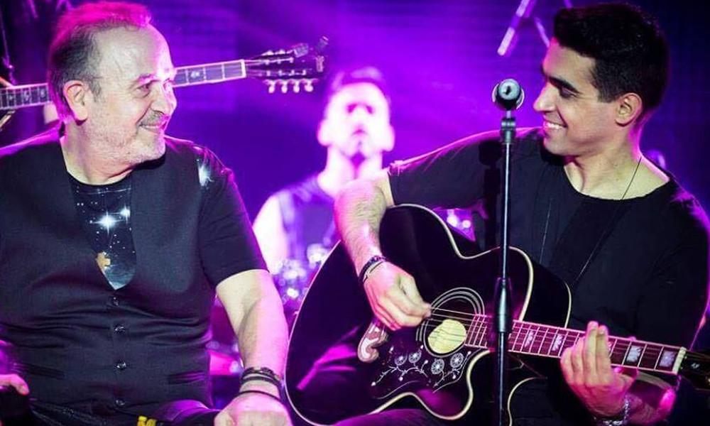 Βασίλης Δήμας: «Σείστηκε» η Βέροια στη μουσική συνάντησή του επί σκηνής με τον Σταμάτη Γονίδη