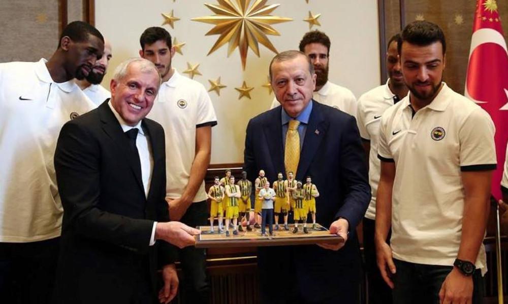 Επίσκεψη της Φενέρμπαχτσε στον Ερντογάν (photos)