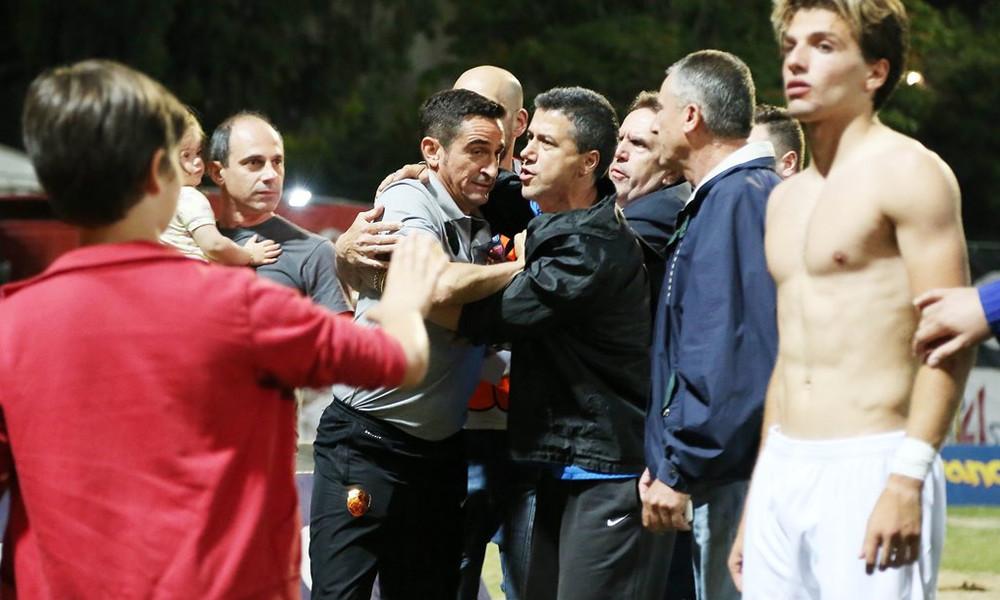 ΑΕΚ: «Θερμό» επεισόδιο Χιμένεθ με οπαδό του Πανιωνίου (photos)