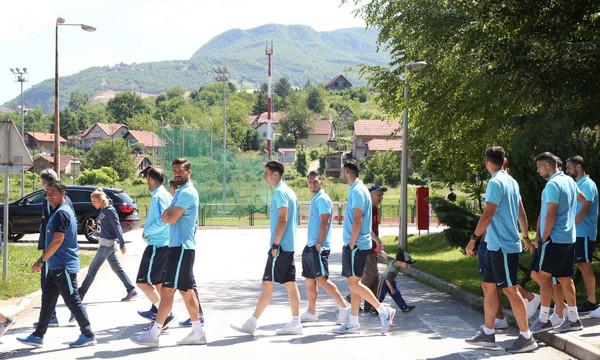 Βοσνία-Ελλάδα: Η βόλτα των διεθνών στη Ζένιτσα (photos)