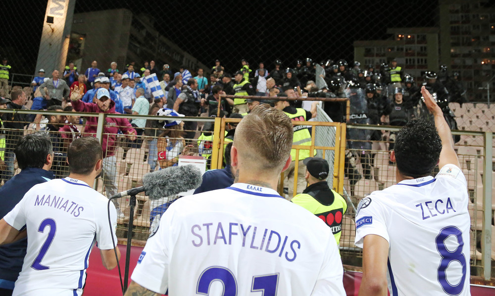 «Ντου» των Βόσνιων στους Έλληνες φιλάθλους! (photos)